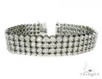 Super Toni 4 Row Mens Diamond Bracelets