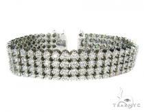 Super Toni 4 Row メンズ ダイヤモンド ブレスレット