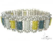 Multi Color Bubble Bracelet Mens Diamond Bracelets
