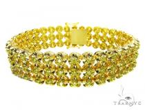 Canary 3 Row Toni Bracelet Mens Diamond Bracelets