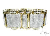 Round Cut XXL Bracelet メンズ ダイヤモンド ブレスレット