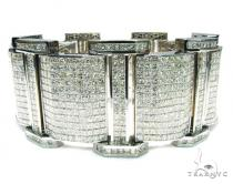 Princess Cut XXXL Bracelet Mens Diamond Bracelets