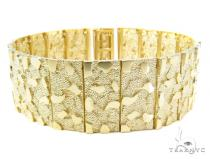 10K Gold Bracelet 36929 Gold Mens Bracelets