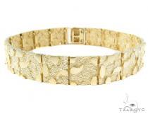 10k Gold Bracelet 36933 Gold Mens Bracelets