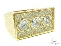 Bezel Custom Diamond Pinky Ring 36937 ピンキーリング