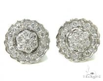 Pron Diamond Earrings 36943 Mens Diamond Earrings