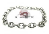Loop Linked Bracelet 2 Stainless Steel