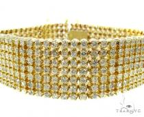YG Toni 7 Row Bracelet Mens Diamond Bracelets