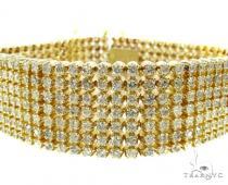 YG Toni 7 Row Bracelet メンズ ダイヤモンド ブレスレット