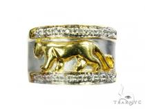 Y.G. Panther Ring 記念日用 ダイヤモンド リング