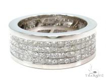 Invisible Diamond Ring 36995 Mens Diamond Wedding Bands