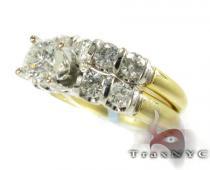 Tension Solitaire Ring Set ダイヤモンド 婚約 結婚指輪