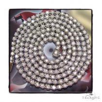 DX Diamond Chain 32 Inches 6mm 60 Grams ダイヤモンド チェーン