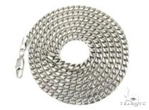 Solid Franco 10K 26 Inches 3mm, 45.1 Grams Chain Gold Chains