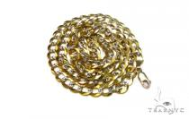 30 Inch, 8mm, 44.2 Grams Cuban Chain Gold