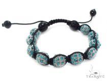 Crystal Shambala Rope Bracelet 37130 Gold