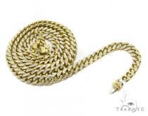 Diamond Miami Link Chain 36 Inches, 8.5mm, 183 Grams ダイヤモンド チェーン