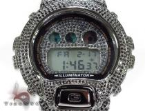 G-shock Fully Ice Black Color CZ Loaded Watch G-Shock Watches