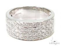Prong Diamond Ring 37397 Mens Diamond Wedding Bands