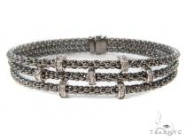 Prong Diamond Bracelet 37545 Diamond
