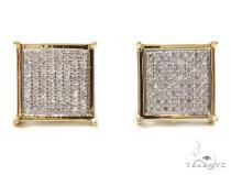 Prong Diamond Earrings 37626 Mens Diamond Earrings
