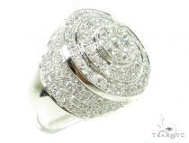 Invisible Diamond Wedding Ring 37784 Stone