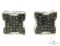 Prong Diamond Earrings 37797 Black Diamond Earrings