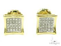 Prong Diamond Earrings 37909 Mens Diamond Earrings