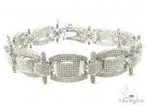 Prong Diamond Bracelet 37936 Sterling Silver Bracelets