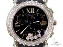 Chopard Happy Sport Black Dial Chronograph Watch 288499-3011 スペシャルウォッチ