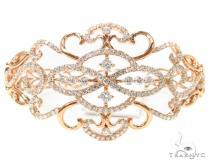 Prong Diamond Bangle Bracelet 38007 ダイヤモンド バングル