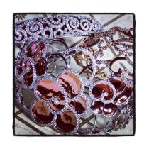 Prong Diamond Flower Bangle Bracelet 38003 ダイヤモンド バングル