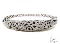 Prong Diamond Bangle Bracelet 38027 ダイヤモンド バングル