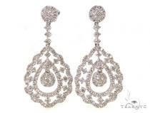 Peahen Diamond Chandelier Earrings 38029 Style