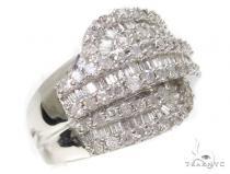 Ladies Diamond Baguette Ring 39493 記念日用 ダイヤモンド リング