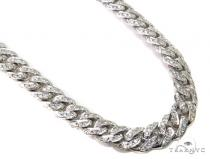 Prong Diamond Cuban Chain 30 Inches 13mm 282.3 Grams Diamond Chains