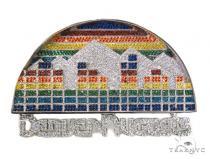 Custom Silver Denver Nuggets Pendant-40014 シルバーペンダント