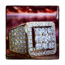 VS Freeze Diamond Ring Mens Diamond Rings