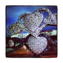 WG Heart of Gold Bracelet Diamond