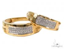 Diamond Couple Silver Ring Set 40214 レディース シルバーリング