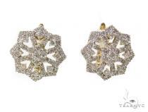 Prong Diamond Earrings 40363 Stone
