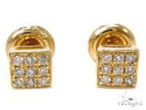 40510 Duplicate Mens Diamond Earrings