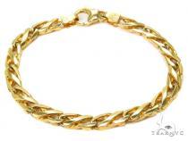 14K Gold Bracelet 40441 Gold Mens Bracelets