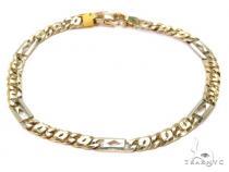 14K Gold Bracelet 40442 Gold Mens Bracelets