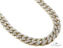 Prong Diamond Chain 30 Inches 10mm 179.9 Grams 40451 Diamond Chains