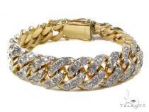 Prong Diamond Bracelet 40452 メンズ ダイヤモンド ブレスレット