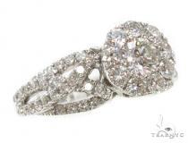 Prong Diamond Wedding Ring 40468 ダイヤモンド 婚約 結婚指輪
