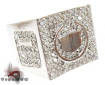 Custom Cadillac Ring 40518 Metal