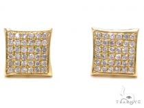 Prong Diamond Earrings 40527 Mens Diamond Earrings