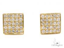Prong Diamond Earrings 40529 Mens Diamond Earrings